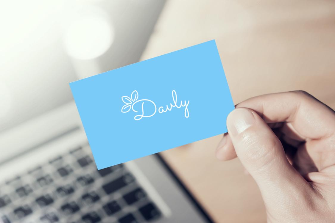 Sample branding #3 for Davly