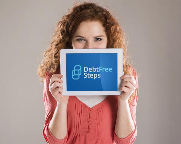 Sample branding #3 for Debtfreesteps