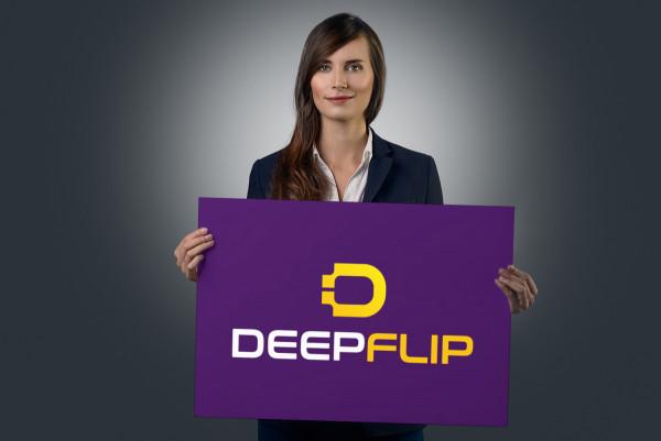 Sample branding #1 for Deepflip