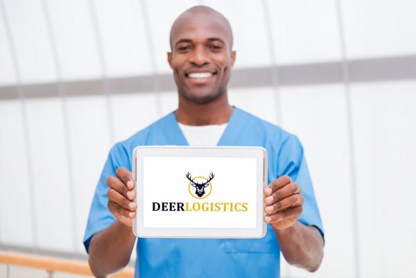 Sample branding #3 for Deerlogistics