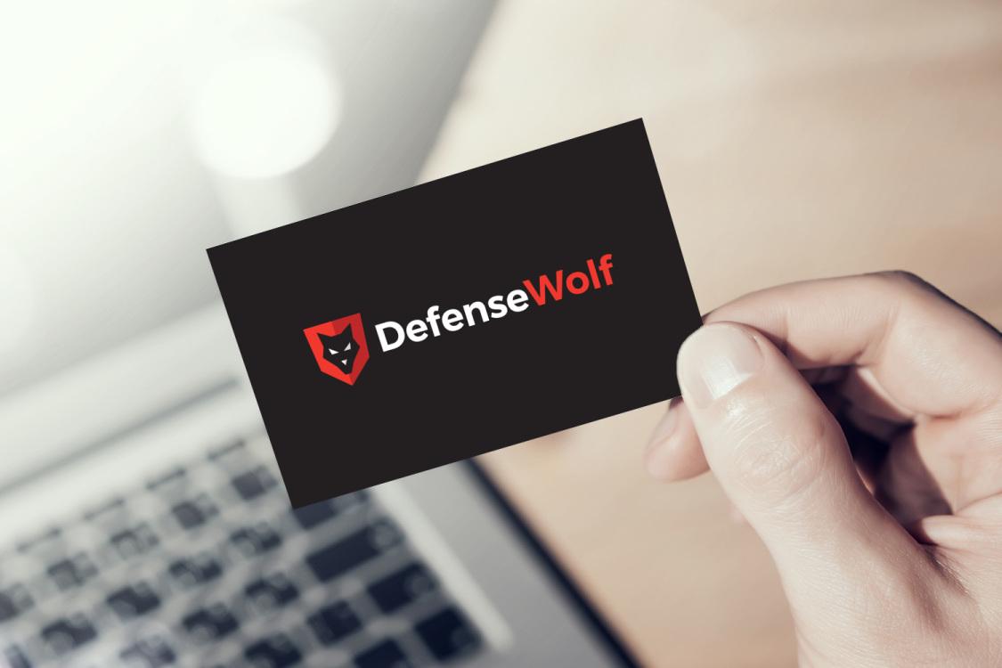 Sample branding #2 for Defensewolf