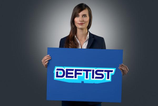 Sample branding #1 for Deftist