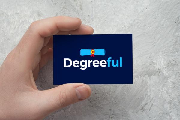 Sample branding #1 for Degreeful