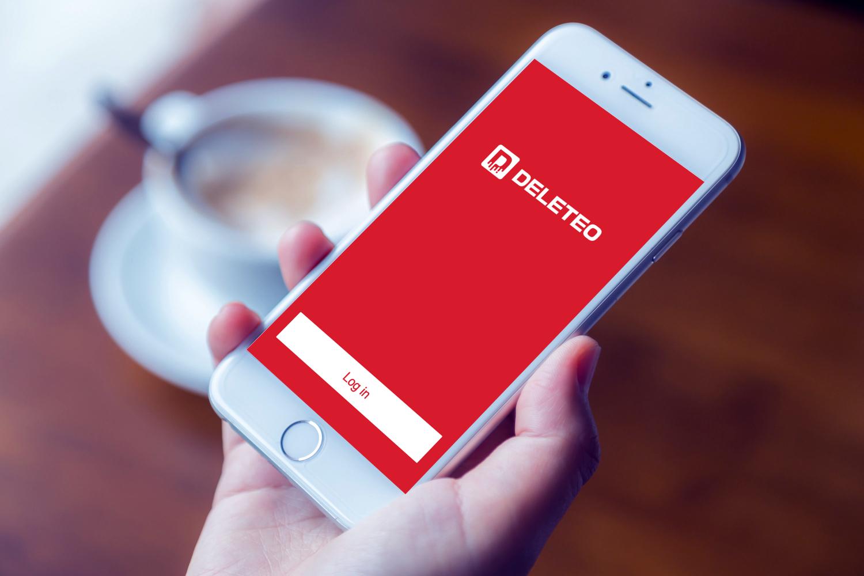 Sample branding #1 for Deleteo