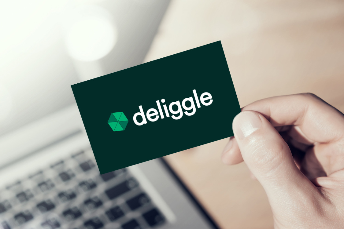 Sample branding #1 for Deliggle