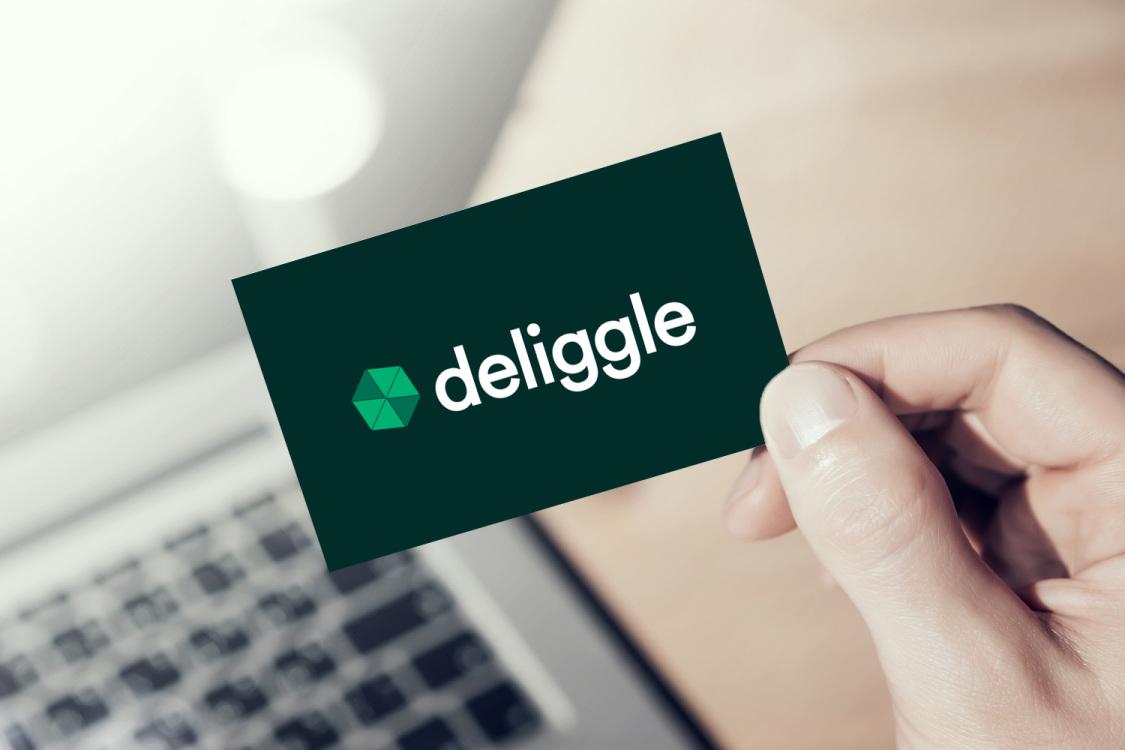 Sample branding #1 for Deliggle