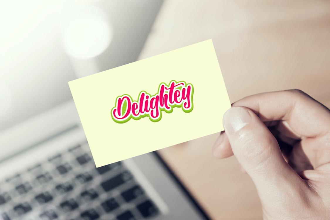 Sample branding #1 for Delightey