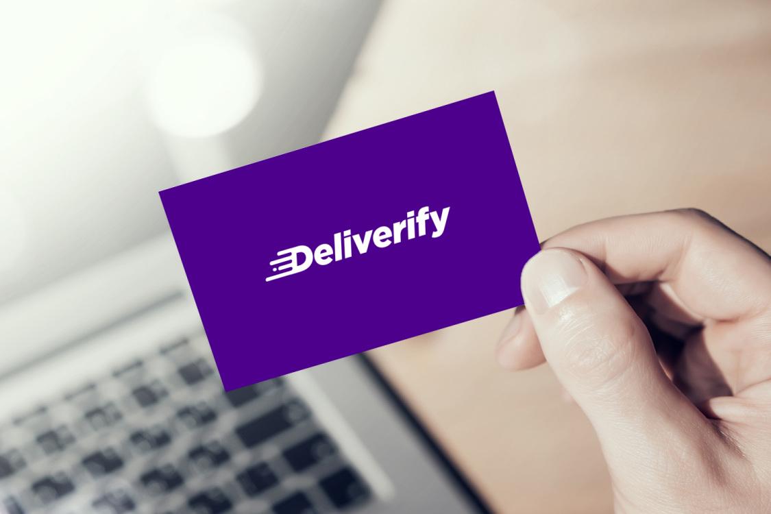 Sample branding #1 for Deliverify