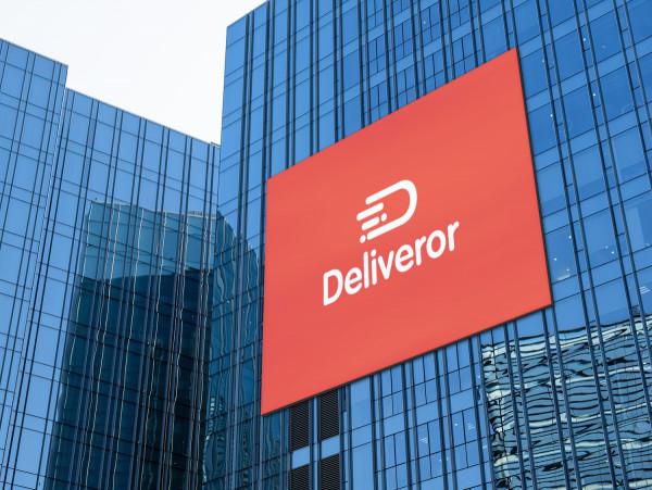 Sample branding #3 for Deliveror
