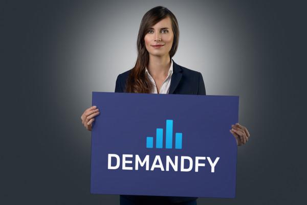 Sample branding #2 for Demandfy