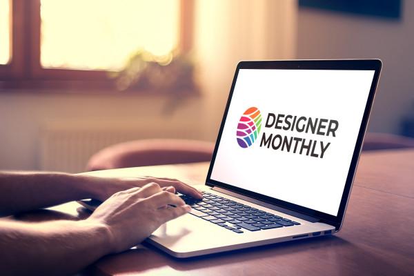 Sample branding #1 for Designermonthly