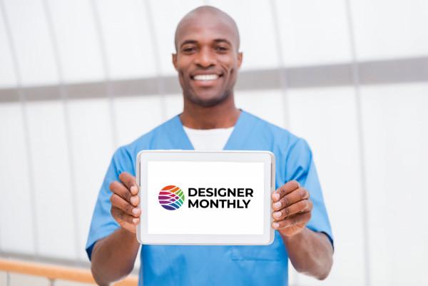Sample branding #2 for Designermonthly