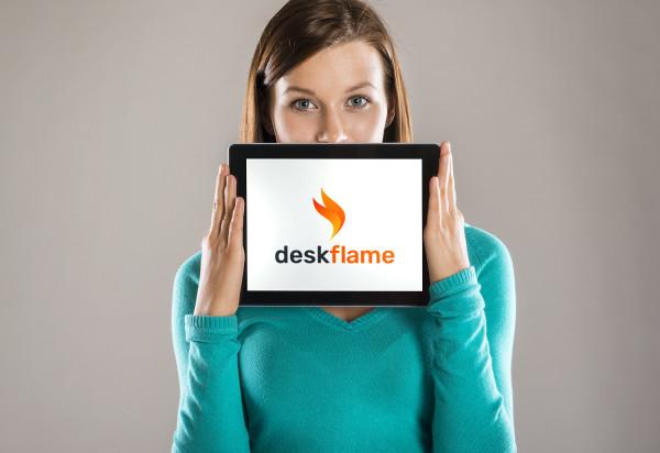 Sample branding #1 for Deskflame