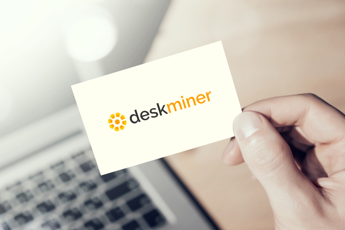 Sample branding #1 for Deskminer