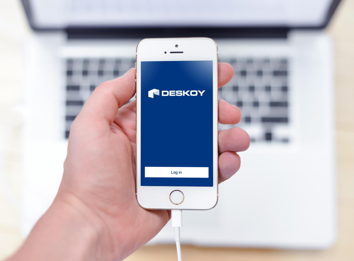 Sample branding #2 for Deskoy