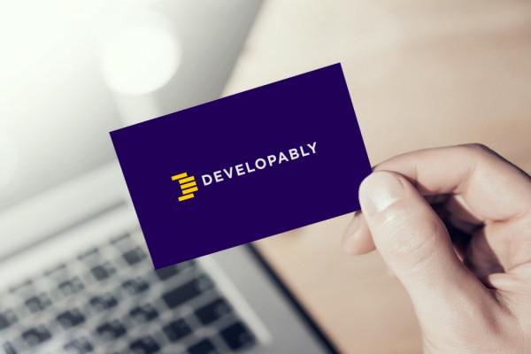 Sample branding #1 for Developably