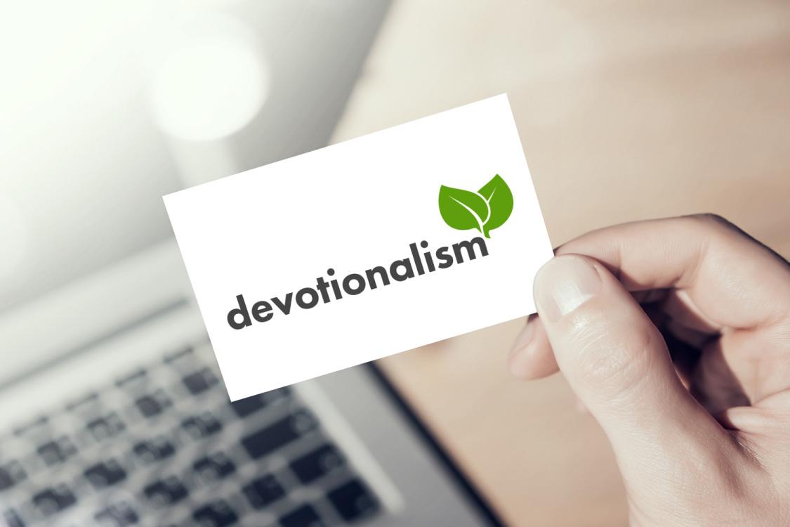 Sample branding #3 for Devotionalism