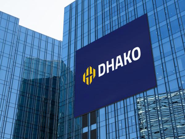 Sample branding #3 for Dhako