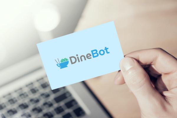 Sample branding #2 for Dinebot