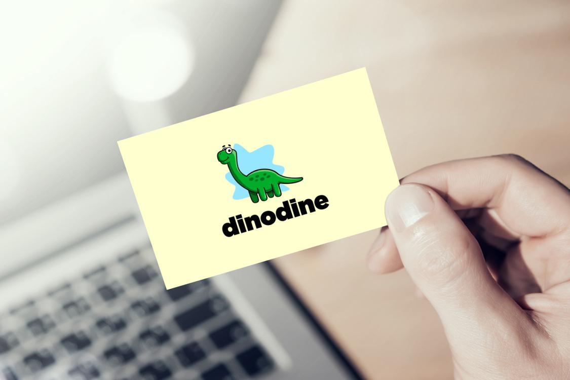 Sample branding #3 for Dinodine
