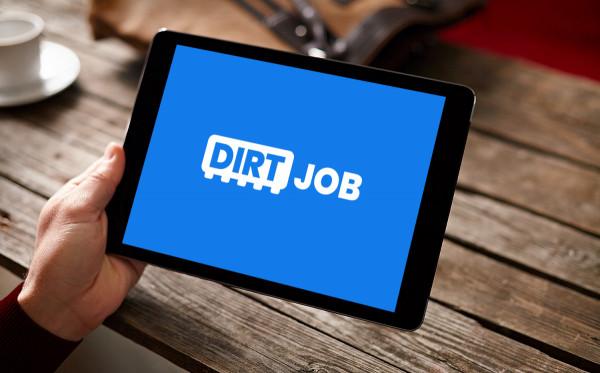 Sample branding #3 for Dirtjob