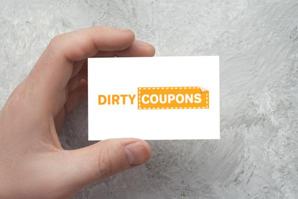 Sample branding #3 for Dirtycoupons