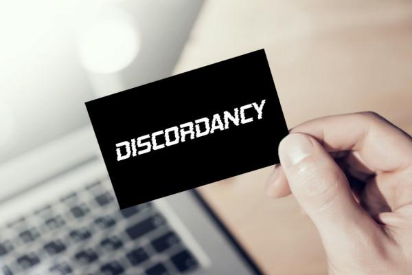Sample branding #3 for Discordancy