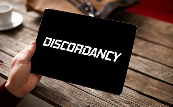 Sample branding #1 for Discordancy