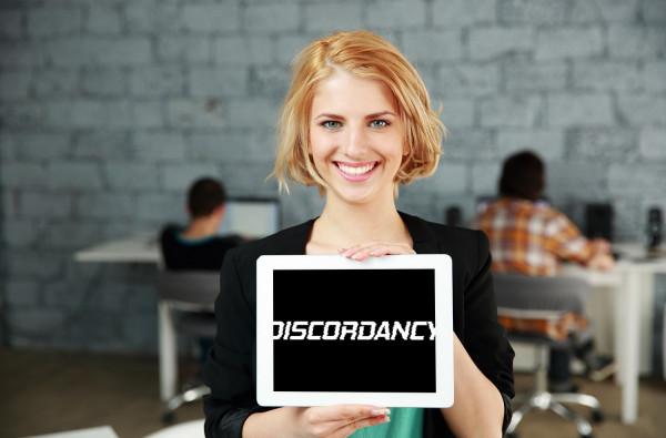 Sample branding #2 for Discordancy