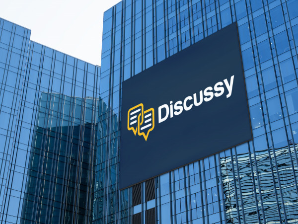 Sample branding #3 for Discussy
