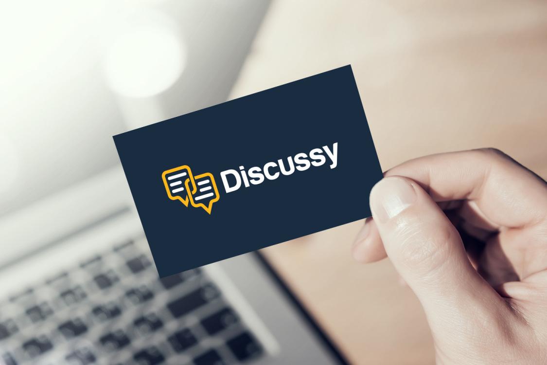 Sample branding #1 for Discussy