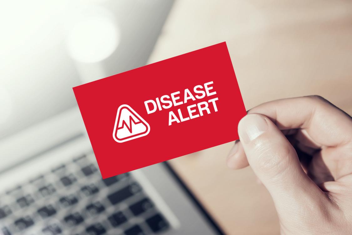 Sample branding #2 for Diseasealert