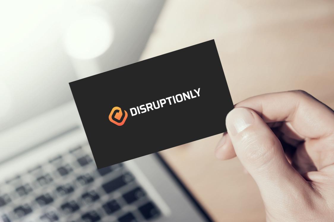 Sample branding #1 for Disruptionly