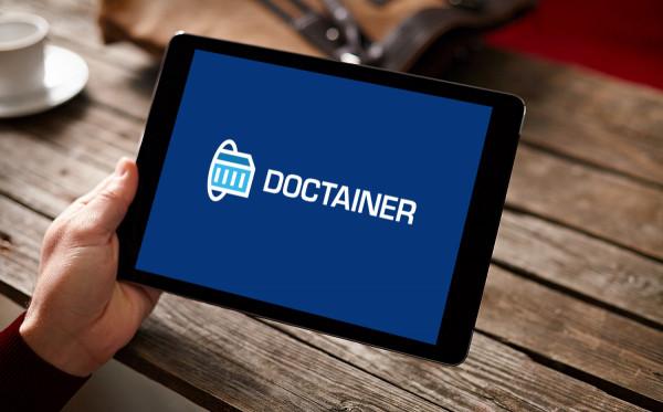 Sample branding #3 for Doctainer