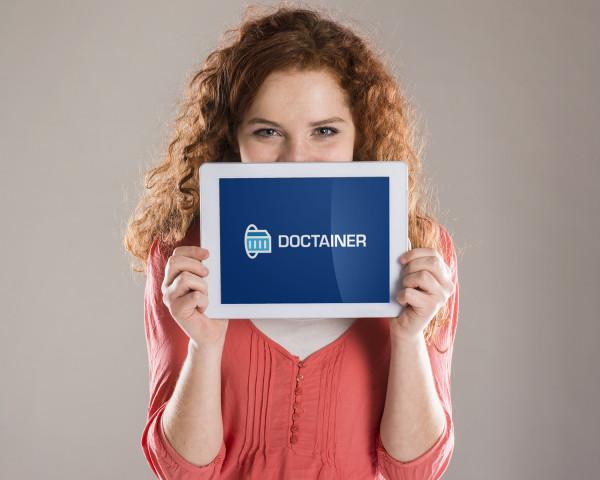 Sample branding #1 for Doctainer