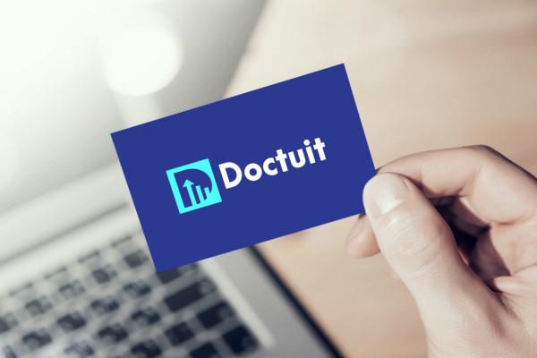 Sample branding #1 for Doctuit