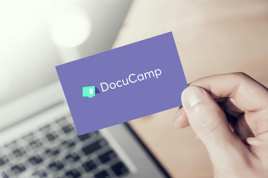 Sample branding #3 for Docucamp