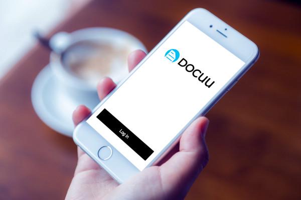 Sample branding #3 for Docuu