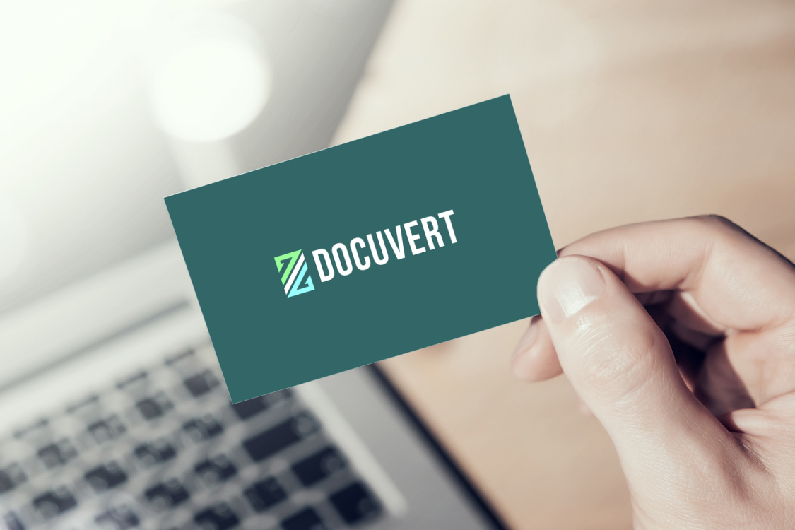 Sample branding #3 for Docuvert