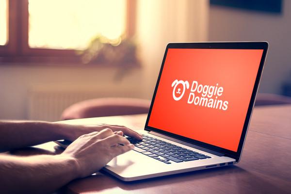 Sample branding #3 for Doggiedomains