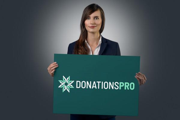 Sample branding #1 for Donationspro