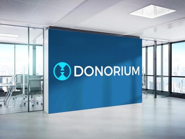Sample branding #1 for Donorium