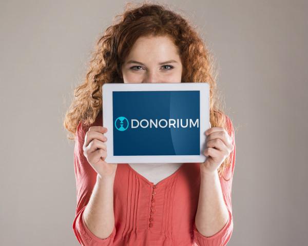 Sample branding #2 for Donorium