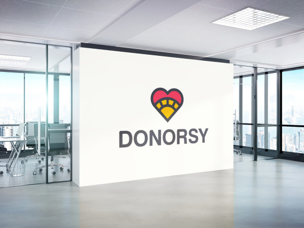 Sample branding #3 for Donorsy