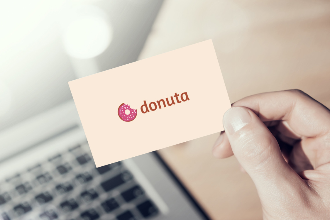 Sample branding #2 for Donuta