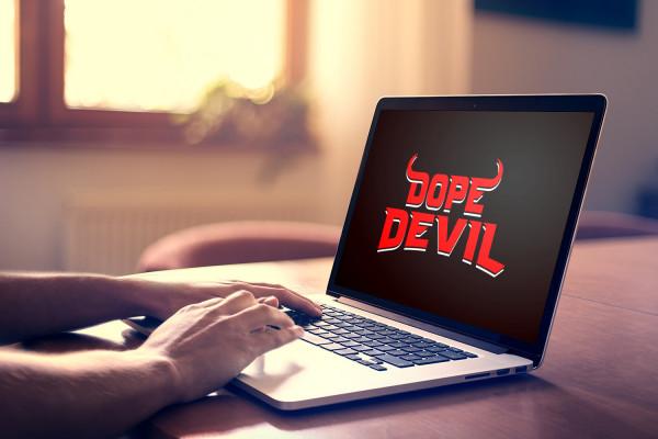 Sample branding #1 for Dopedevil