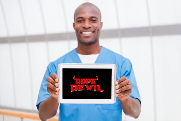 Sample branding #2 for Dopedevil