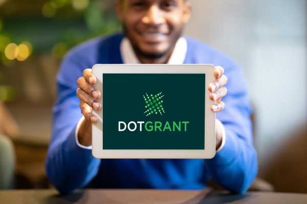 Sample branding #1 for Dotgrant