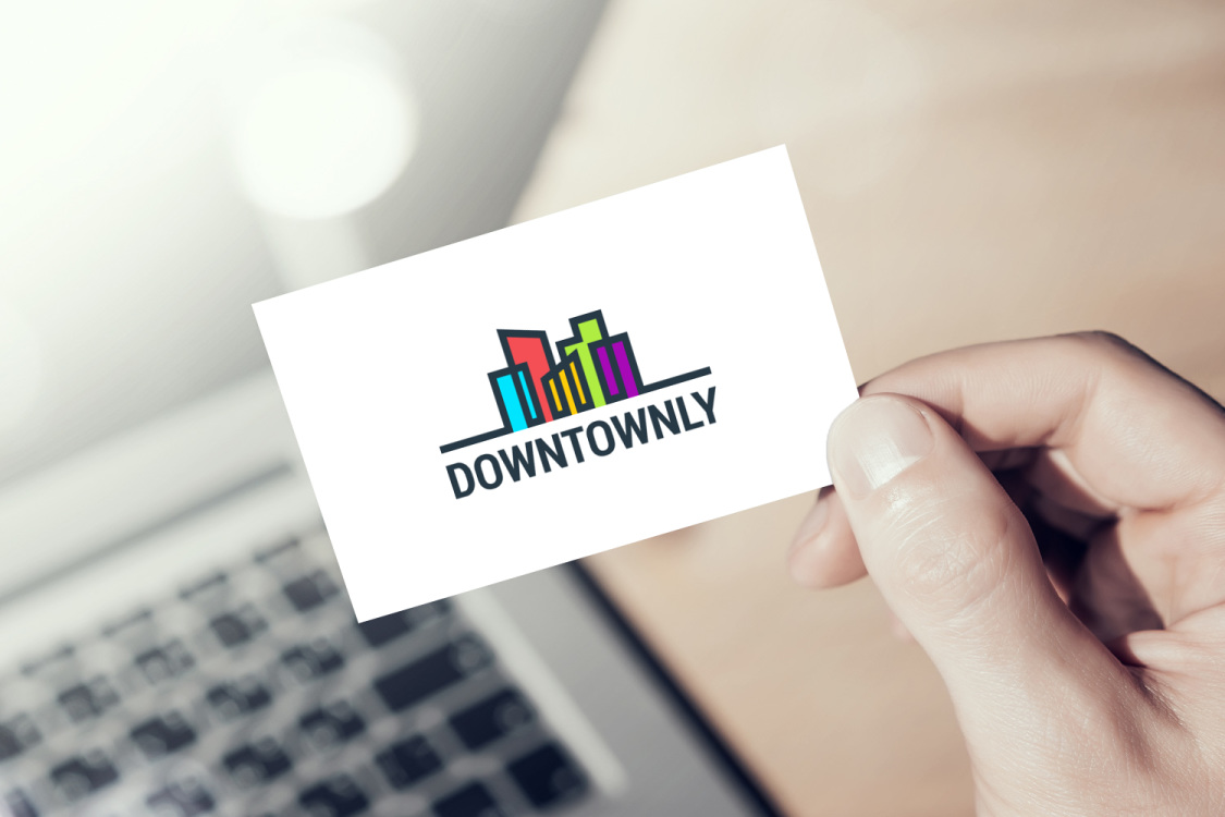 Sample branding #1 for Downtownly