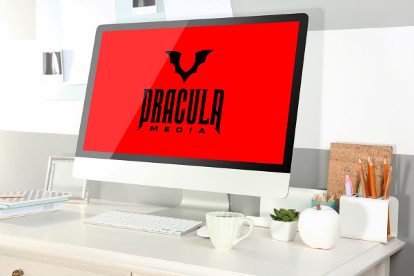 Sample branding #1 for Draculamedia